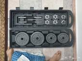 اجهزة رياضية للبيع ( شنطة اثقال و بنش للصدر)