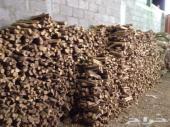 فحم طبيعي وحطب سمر