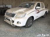 هايلكس 2014 سعودي GLX جنوط اصفار قير عادي