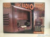 للبيع راديو خشبي كلاسيكي