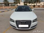 للبيع اودي A8L موديل 2013 بحريني طلبية خاصة