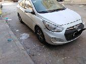 الرياض - سيارة اكسنت 2015 بس في