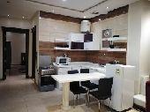 شقة غرفة وصالة ومطبخ وحمام مؤثثة للعوائل فقط