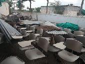 كراسي مدرسية مستعملة
