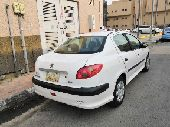 للبيع سيارة بيجو 206 موديل 2008