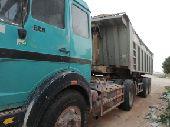 شاحنة قلاب للبيع او الايجار