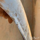 صدام مرسيدس سبعينات w116 جديد خلفي
