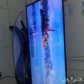 تلفزيون ذكي LG 55 4kبوصة شبه جديدة مع الضمان