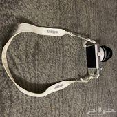 كاميرا سامسونج nx300m مع حامل رقبة وعدسة