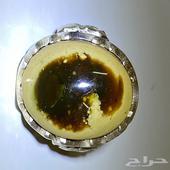 خاتم عقيق يماني مصور نادر وواضح الصوره
