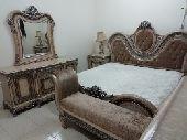 غرفة نوم شبه جديده.. نظيفة جدا.. الرس