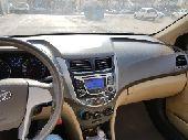 سيارة هونداي اكسنت اوتوماتيك 2015 - 135000 كم