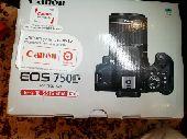 كاميرا كانون  750 للبيع