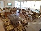 كراسي طاولات VIP تأجير كراسي ذهبي طاولات زجاج