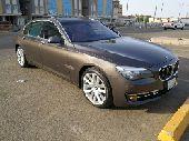 للبيع أو البدل BMW 740 LI 2013 نظيف
