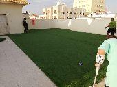 عشب   صناعي توريد وتركيب تنسيق الحدائق