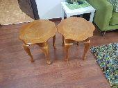 خشب أصلي طاولات جانبية كنب وطاولة