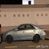 كامري 2005 لون ازرق فاتح