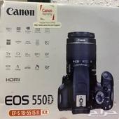 كاميرا كانون d550