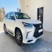 لكزس 2018 سعودي LX570 فل كامل بروجكتر رادار