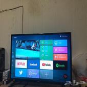 شاشة سمارت 32 بوصه اندرويد HD نوع امبيكس للسوم