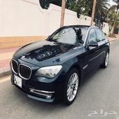 للبيع BMW730LI  موديل2013ماشي 135 الف بود ي بلد لاتوجد حوادث