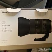 للبيع عدسه تامرون S P 150- 600 mm