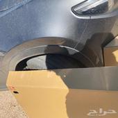 صدام جيب مازدا وجلده الرفرف