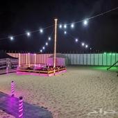 مخيم الواحة للايجار اليومي والاسبوعي بالمنتزه البري المطار