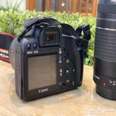 كاميرا كانون 1000 d