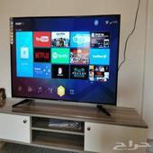 شاشات تلفزيون سمارت 4K واي فاي مع توصيل
