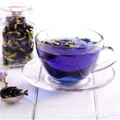 شاي ازرق عضوي طبيعي 100