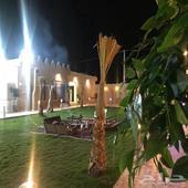للإيجار اليومي شاليه حي الخير شمال الرياض 500ريال