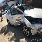 كامري 2016 اول حادث