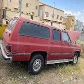 للبيع جمس شيفورليه مديل 1984 اللون احمر