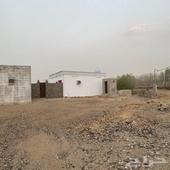 ارض بدون صك مع منزل بعداد كهرباء