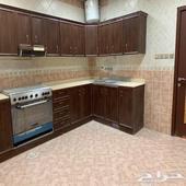 شقة شبه جديدة للعرسان الحمراء الرياض