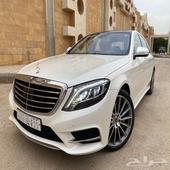 مرسيدس S500 2014 سعودي الجفالي ماشي 66 الف فقط (مخزن)