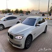 بي ام 750 لارج سعودي 2014
