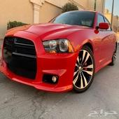 دودج تشارجر SRT V8 2014 سعودي عداد 107 الف