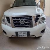نيسان باترول se 2014 مالك اول ماشي 220 الف كيلو خالي الحواد