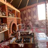 مخيم على طريق رماح نظيف ورخيص للايجار