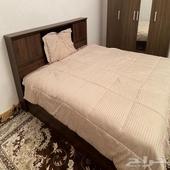سرير ابر نفرين مقاس 200 في 180 للبيع جديد 500 ريال