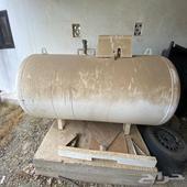 خزان غاز الكبير جديد لم يستخدم