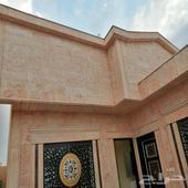 دور ارضي مؤسس ثلاث شقق حي مشارف الحزم جنوب الرياض