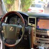 جيب لكزس LX570 موديل 2012 DD