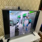 تلفزيون نظيف عادي سمارت مقاس 43