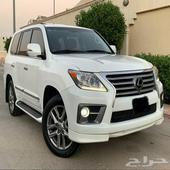 ( تم البيع ) لكزس LX 570 DD سعودي 2012 فل كامل نظيف