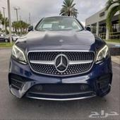 (مميز جدا مواصفات خاصه ) E400 coupe 2018