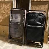 عدد 2 كرسي حديد للبيع تسفط